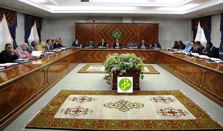 مجلس وزراء موريتانيا